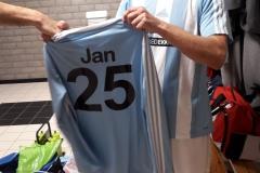Jan Zeegers 25 jaar lid