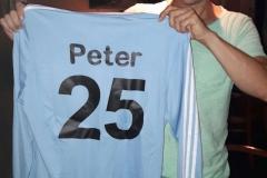 Peter 25 jaar lid